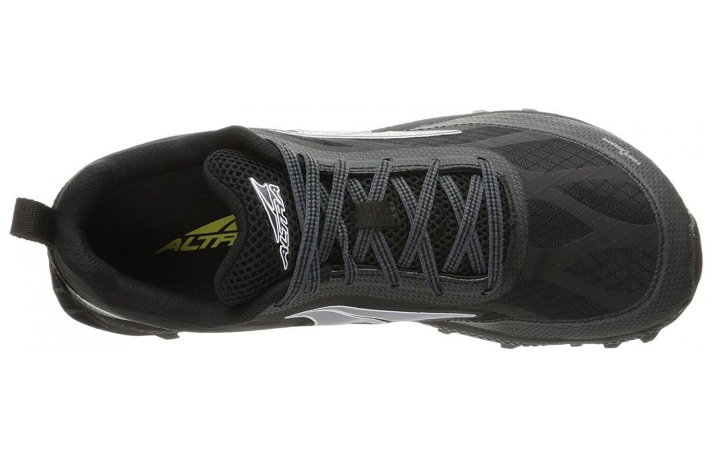 The upper added overlays for protection and durability.