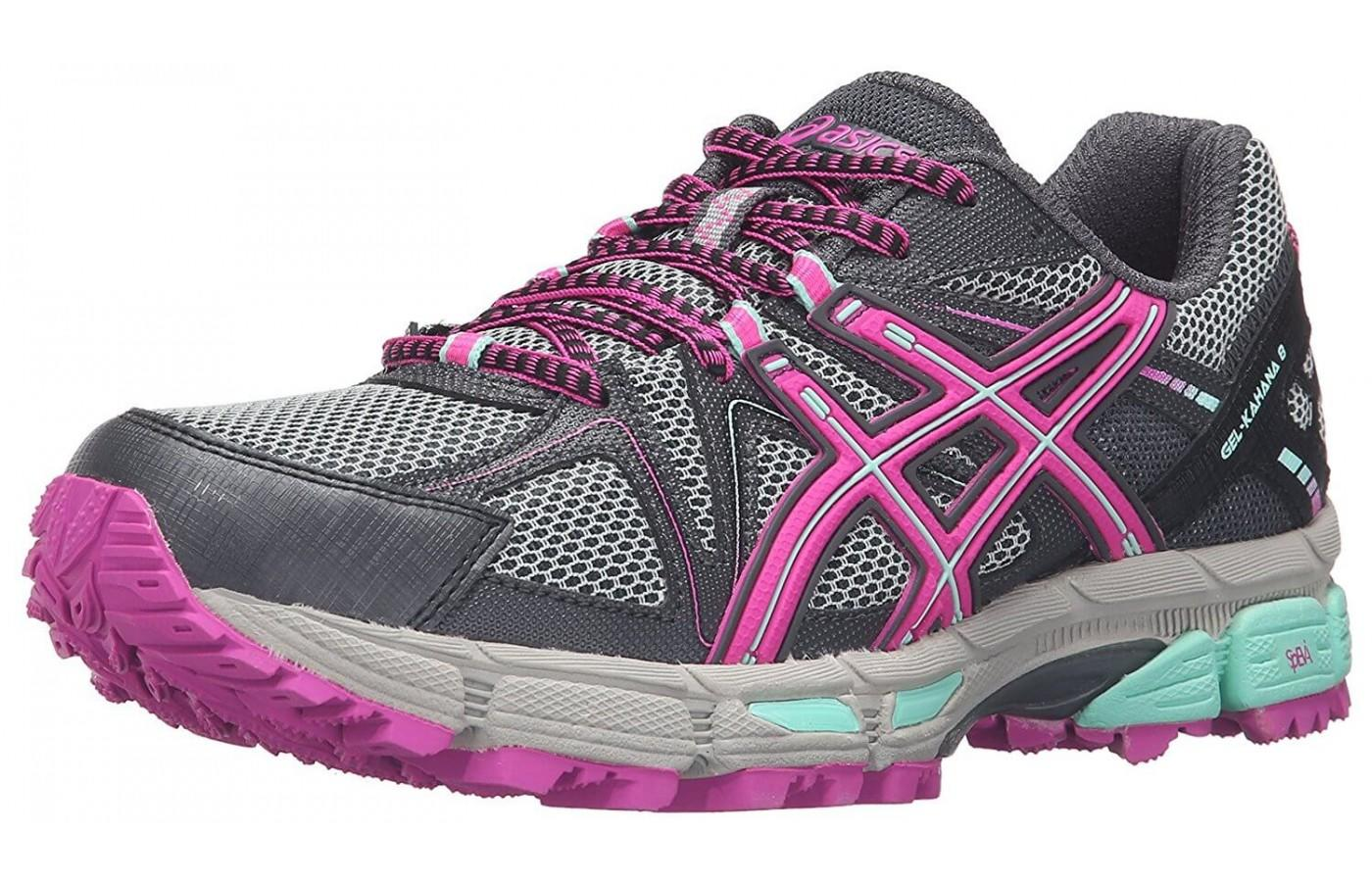 Asics presents the newest member of the Gel Kahana line with its 8th incarnation.