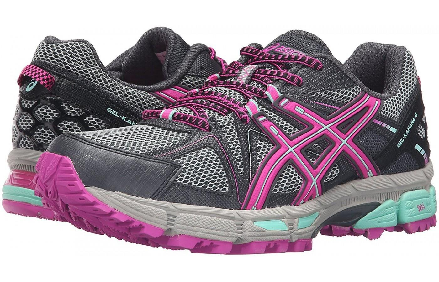 Featuring a breathable mesh upper with a sole unit built for comfort and confidence