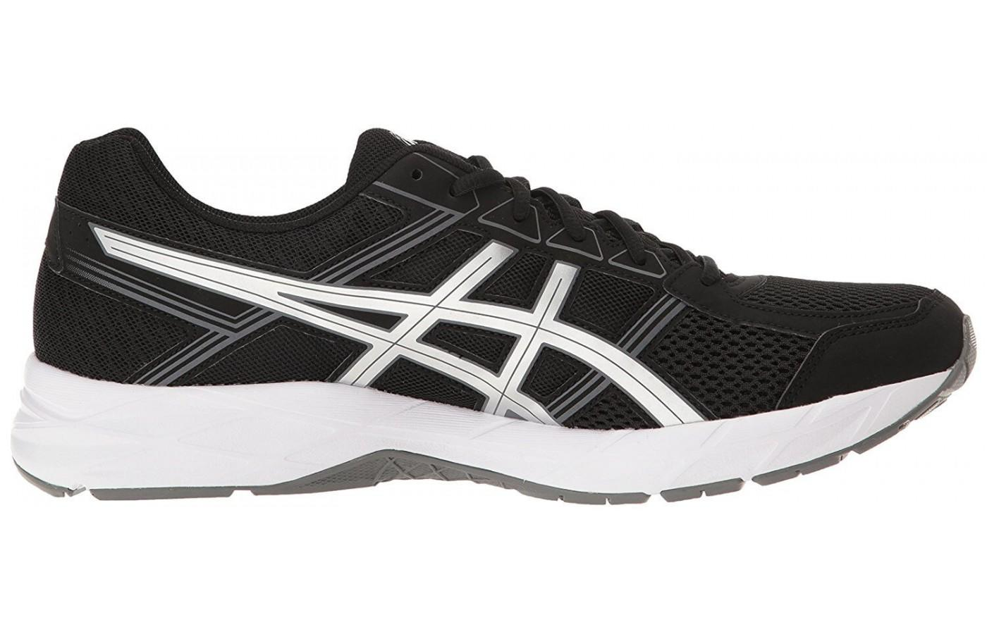 The Gel Contend uses a traditional EVA midsole