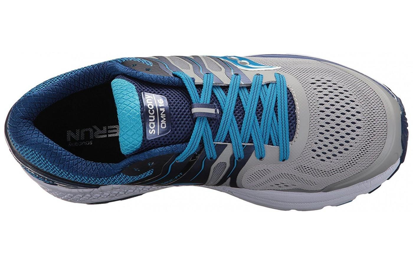 The upper is breathable and flexible.