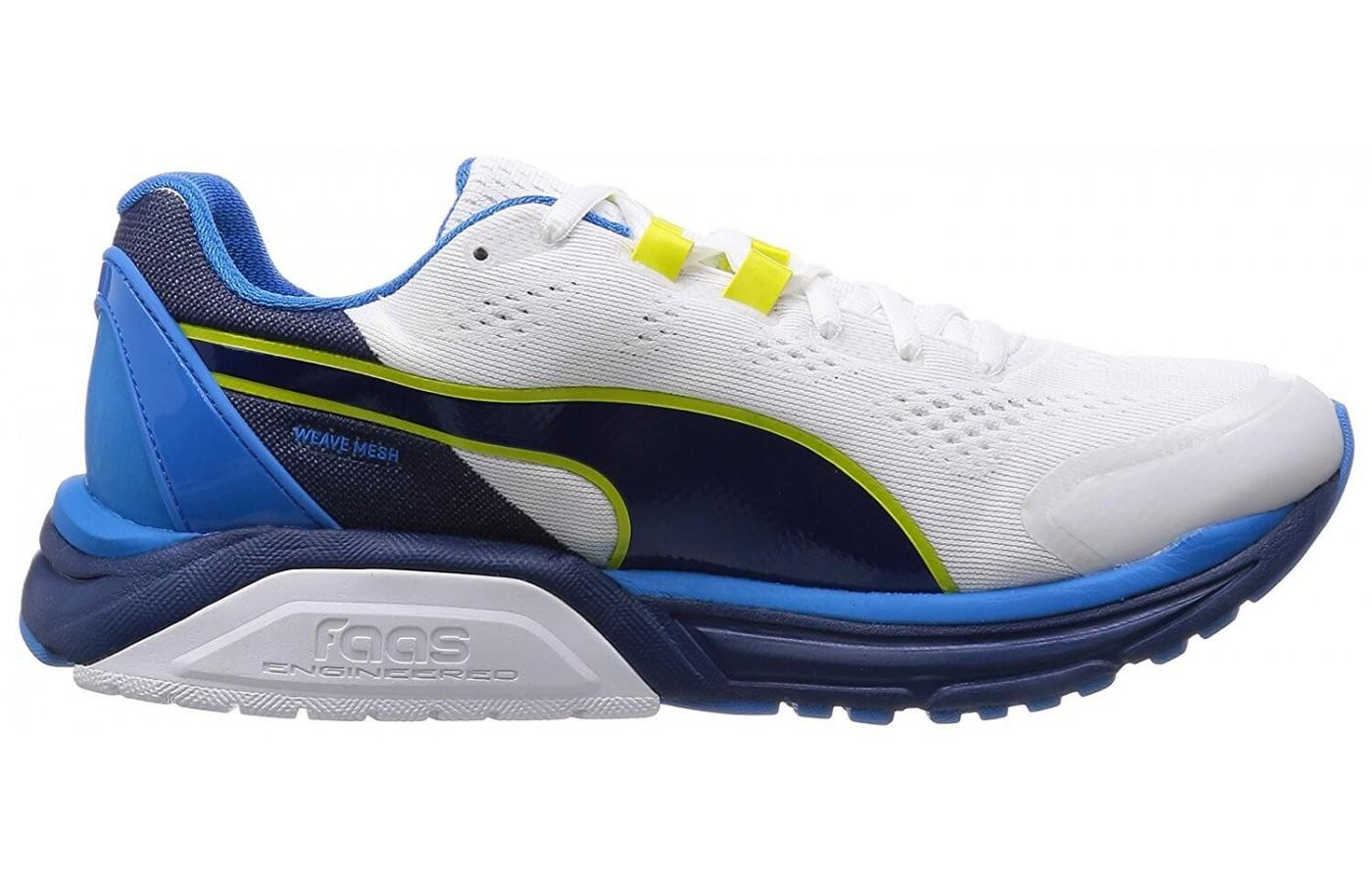 Dual density mid sole foam provides great stability and arch support.
