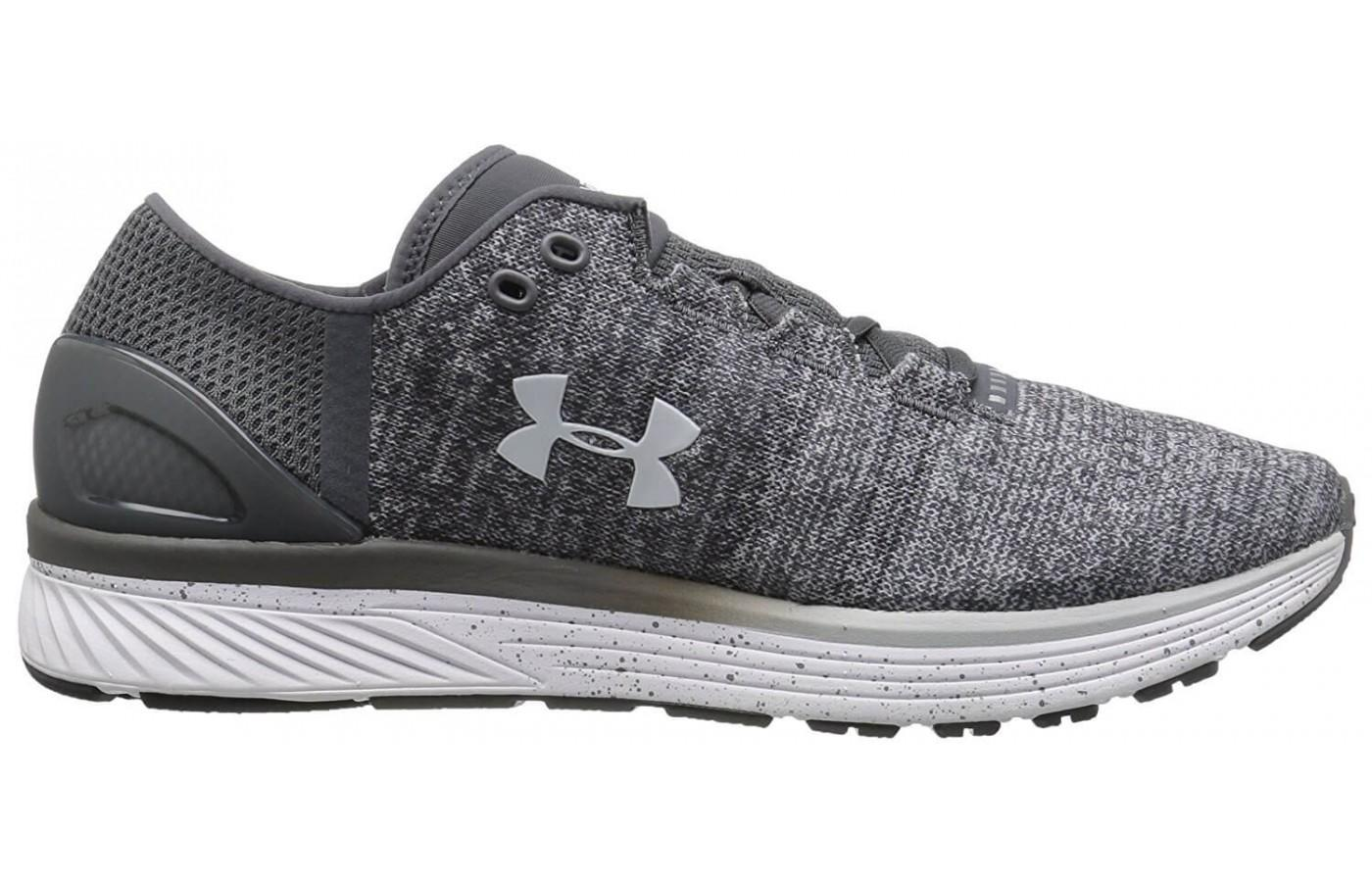The midsole foam used in this shoe provides added cushioning.