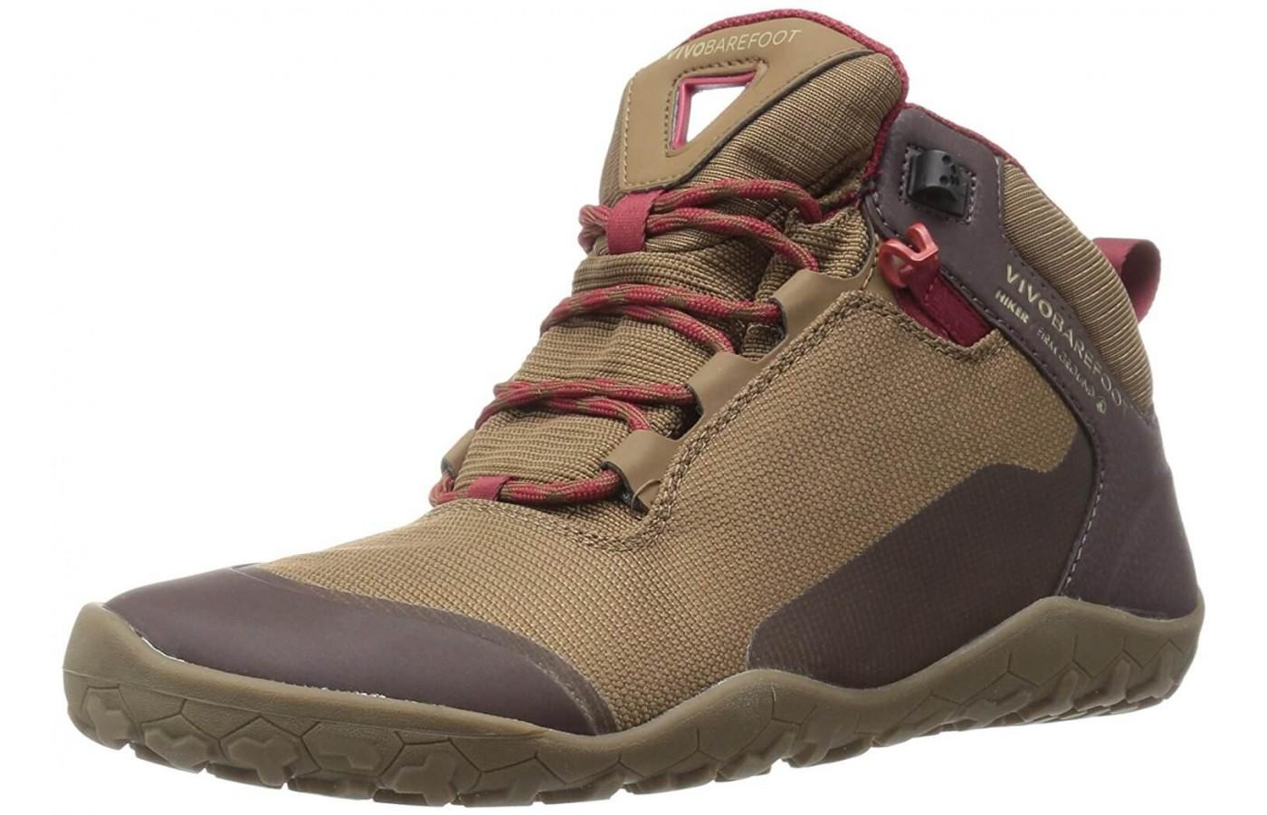 Earth tones and zero drop makes this a beautiful and comfortable hiking boot