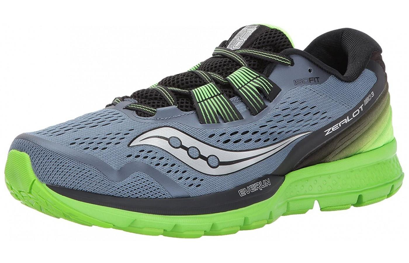 The Saucony Zealot ISO 3 is perfect for tackling the long run.