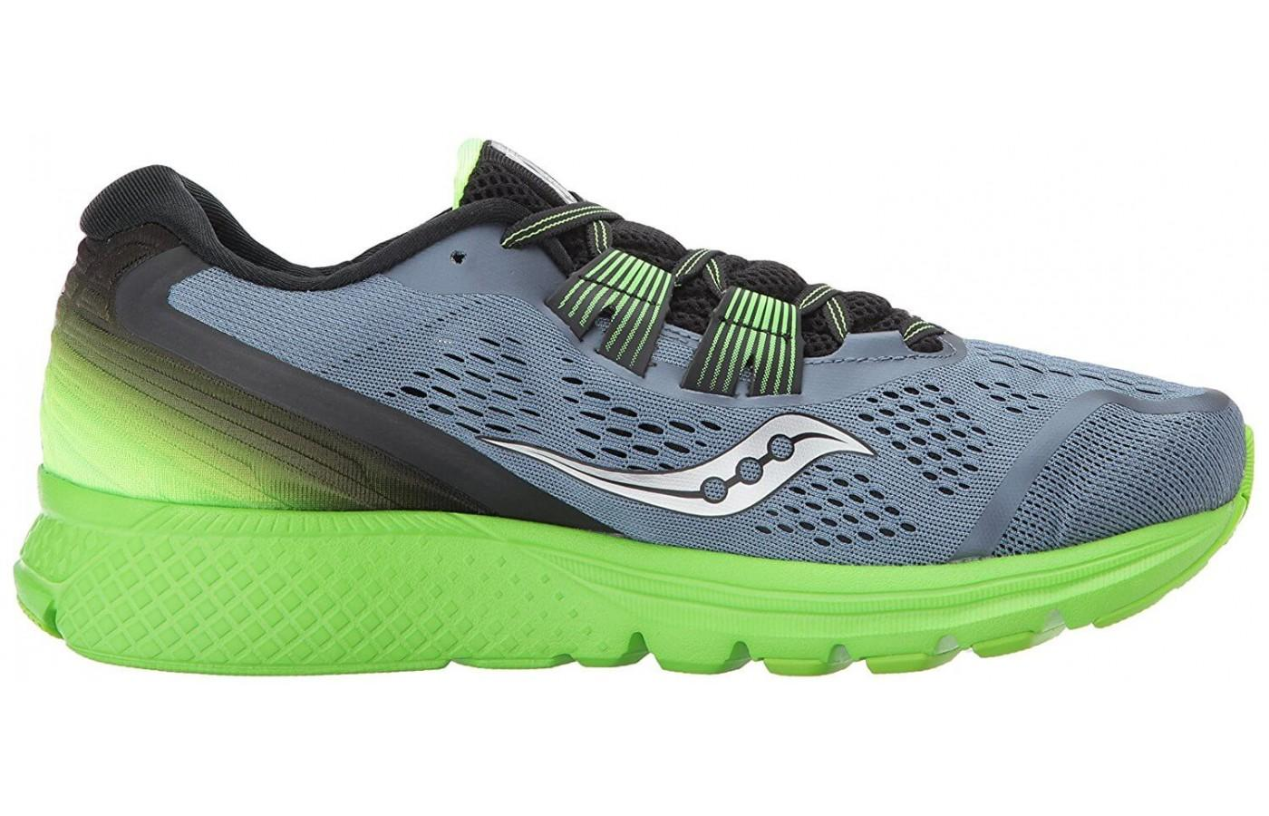 Breathable upper keeps the foot cool and dry.