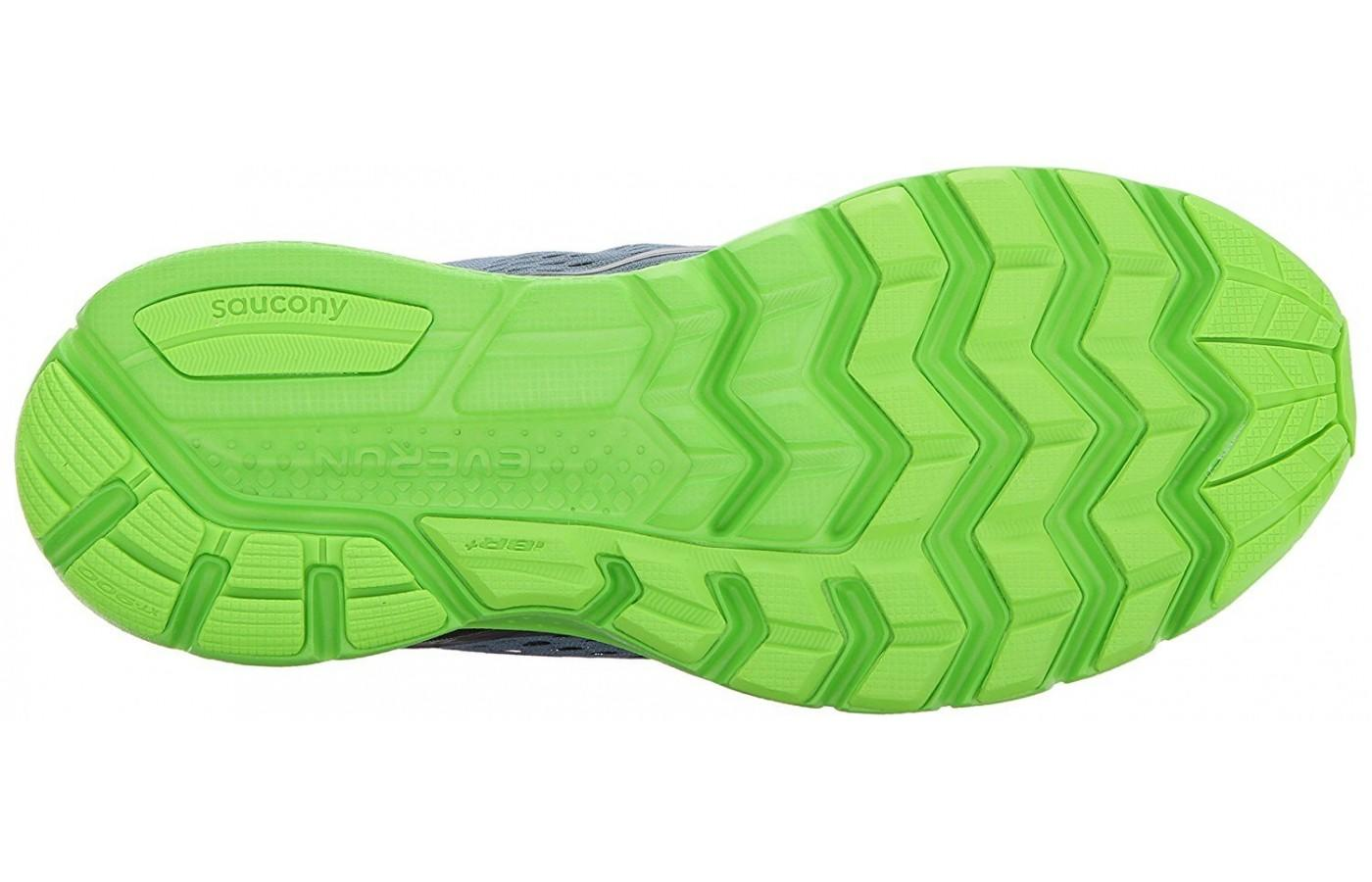 TRI-FLEX outsole offers added traction and flexibility