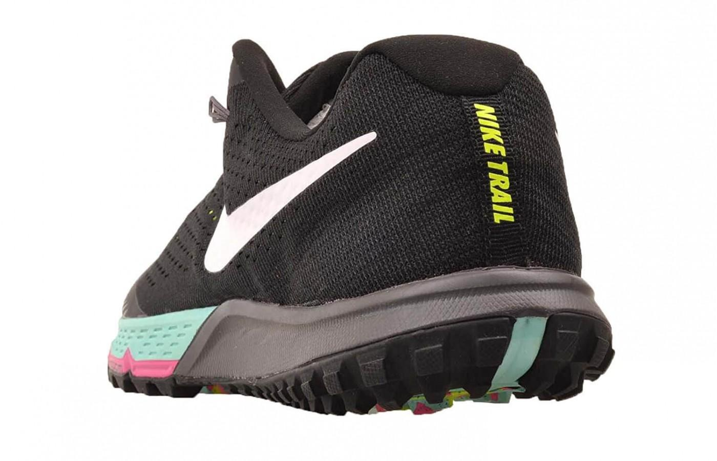 the midsole of the Nike Air Zoom Terra Kiger 4 is a lot softer than its predecessor