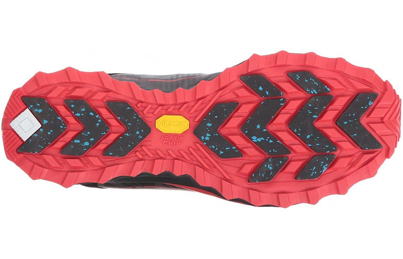 The outsole of the Razor Ice+ provides traction on ice