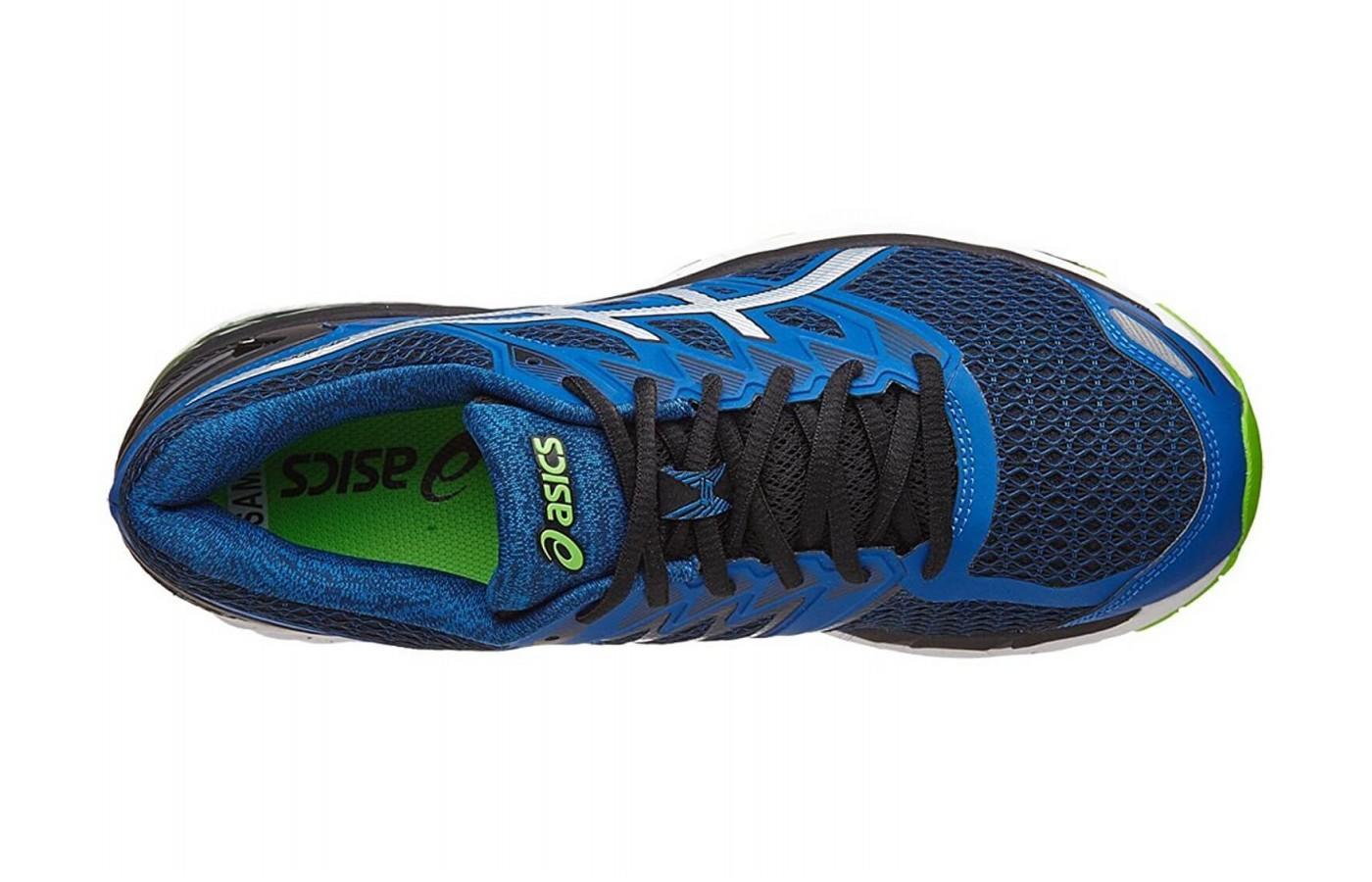 The upper of the Asics GT 3000 5 provides breathability and support