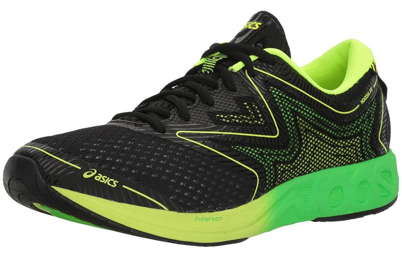 the Asics Noosa FF is a very comfortable shoe that was made with triathletes in mind