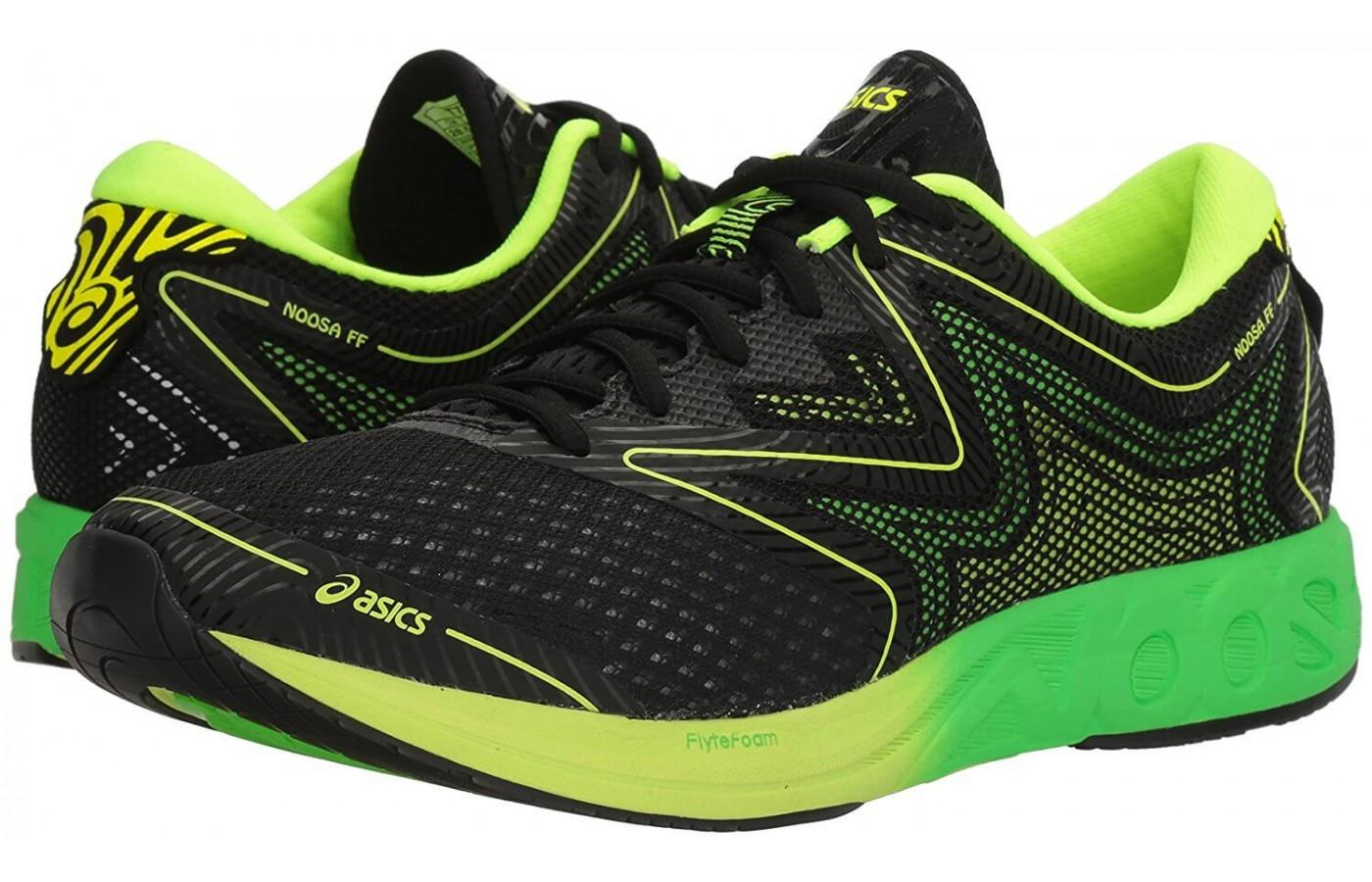 the Ascis Noosa FF is a versatile and comfortable running shoe that are suitable for both long and short runs