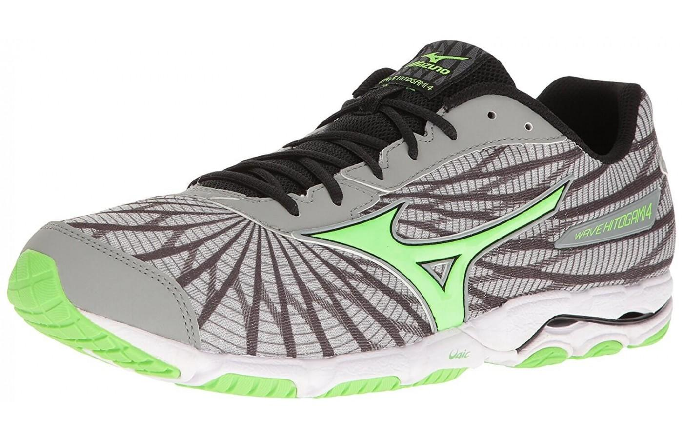 the Mizuno Wave Hitogami 4 is a lightweight road trainer for those with neutral pronation