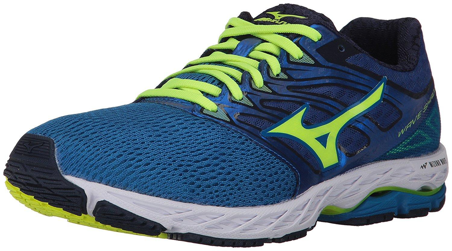 The Mizuno Wave Shadow features Dynamotion Fit technology