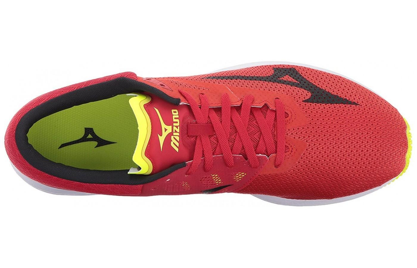Mizuno Wave Sonic features Airmesh material in its upper