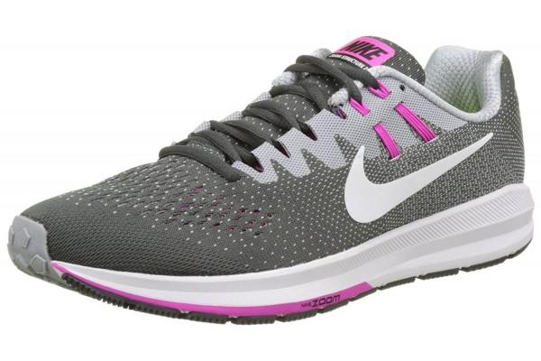 A black variation of Nike air zoom structure 20