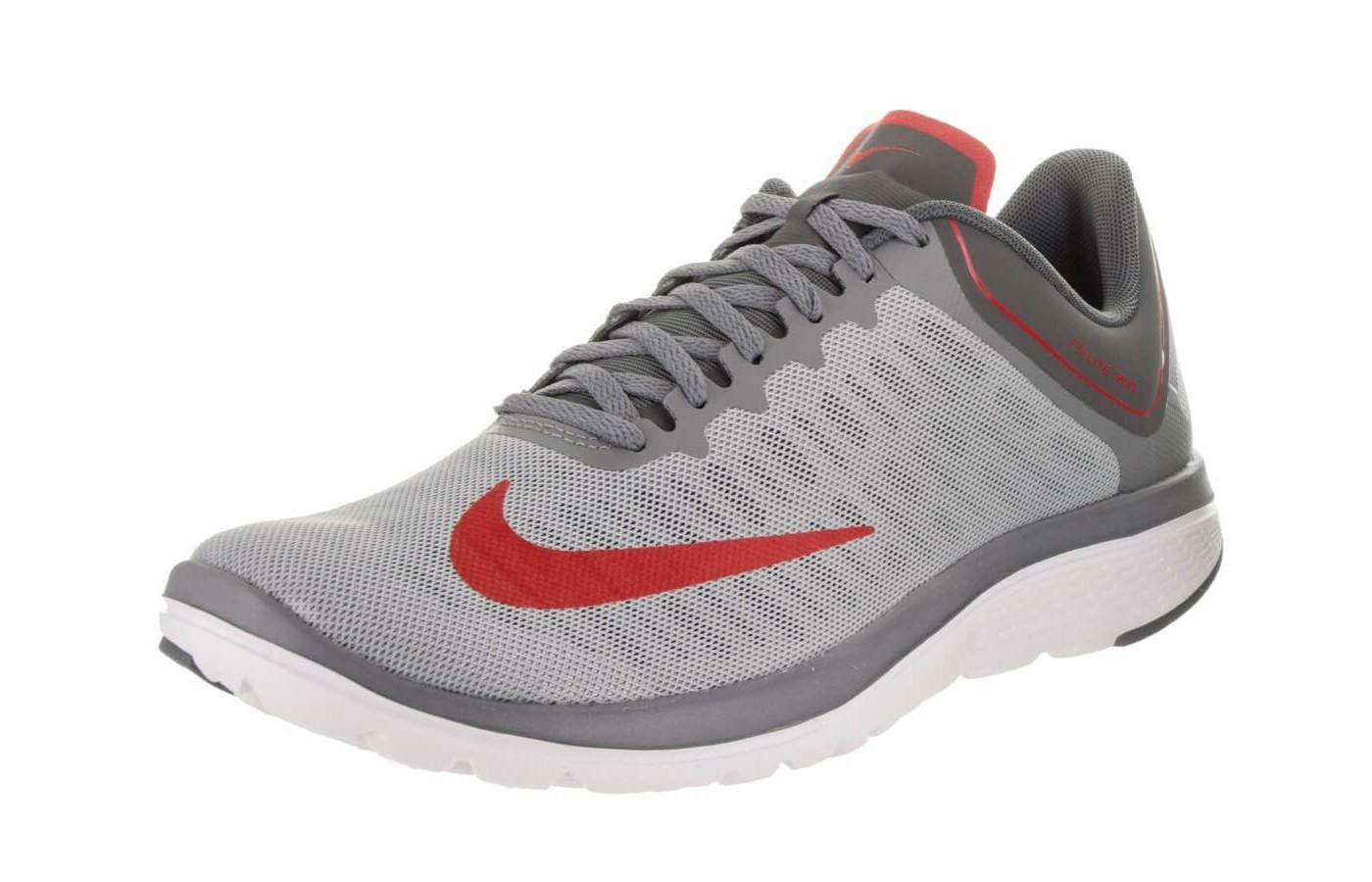 The upper of the Nike FS Lite Run 4 is outfitted in Breathe Tech fabric