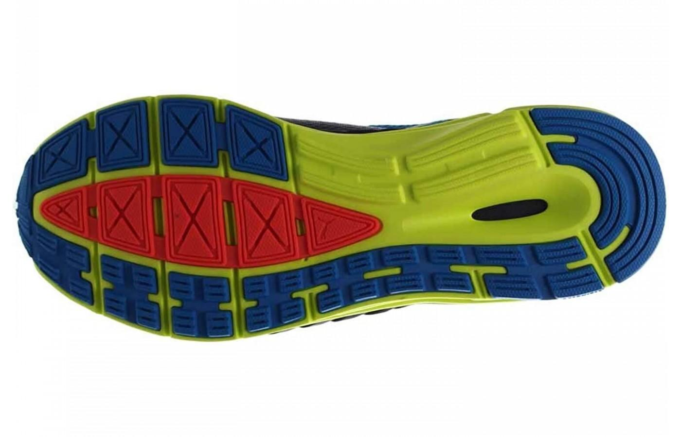 Puma Speed 500 Ignite has an Evertrack+ outsole