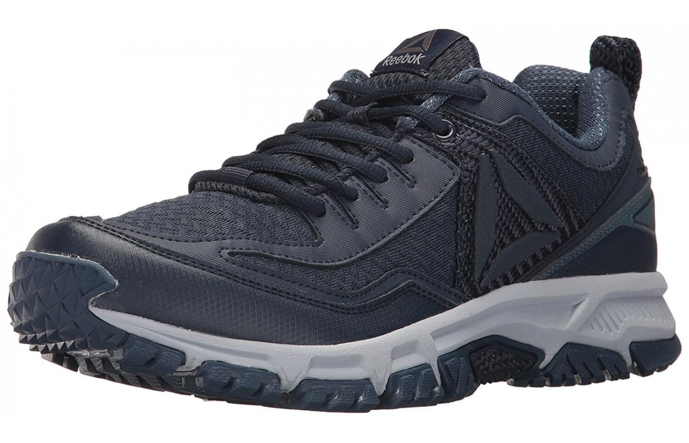 Reebok Ridgerider Trail 2.0 is a trail shoe with prominent outsole lugs