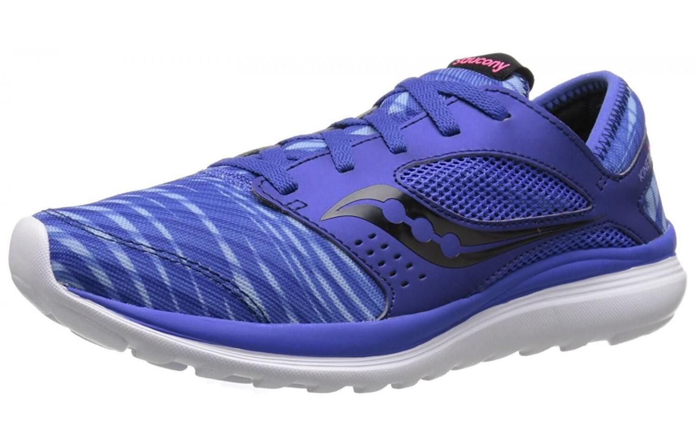 Saucony Kineta Relay in women's purple colorway