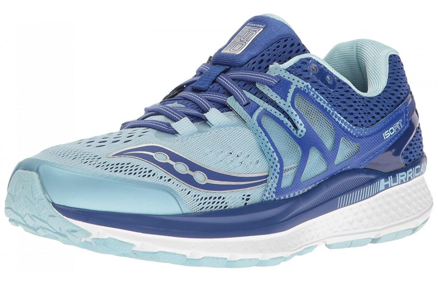 This is the Saucony Hurricane ISO 3