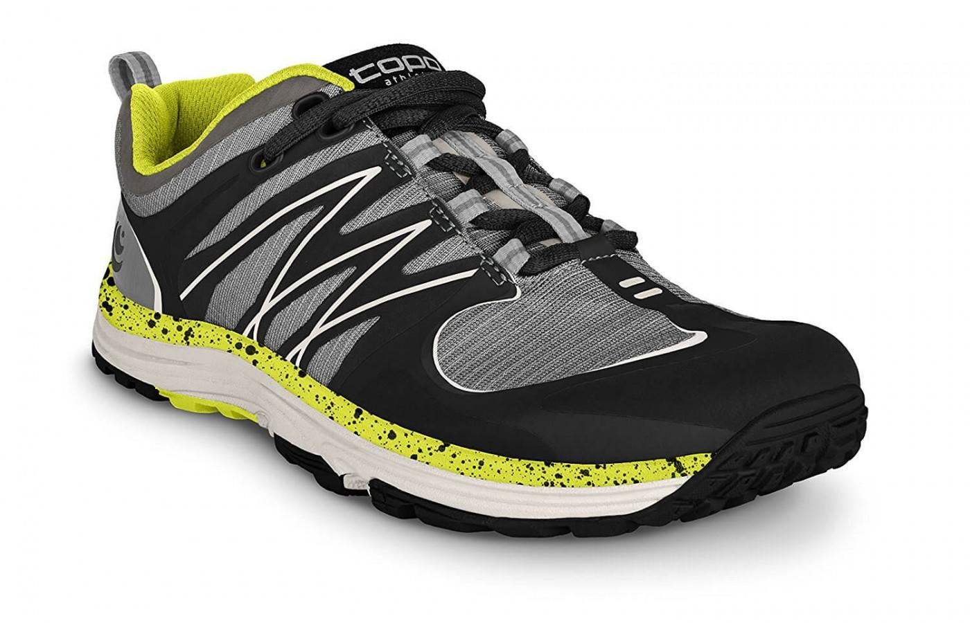 the Topo Athletic MT-2 is a lightweight trail running shoe that offers excellent breathability and performance while on the trail