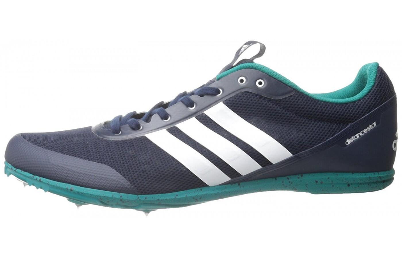 This is a lightweight track racing shoe