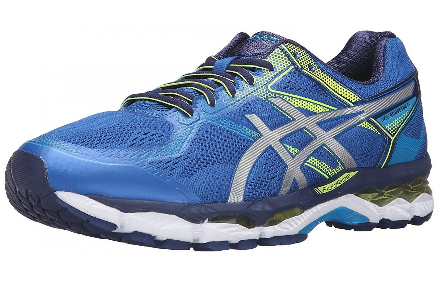 An angled perspective of the ASICS GEL-Surveyor 5.