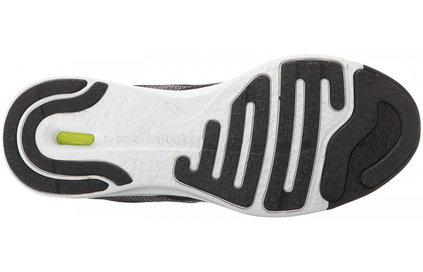 The outsole of the Fuze X Rush offers great traction.