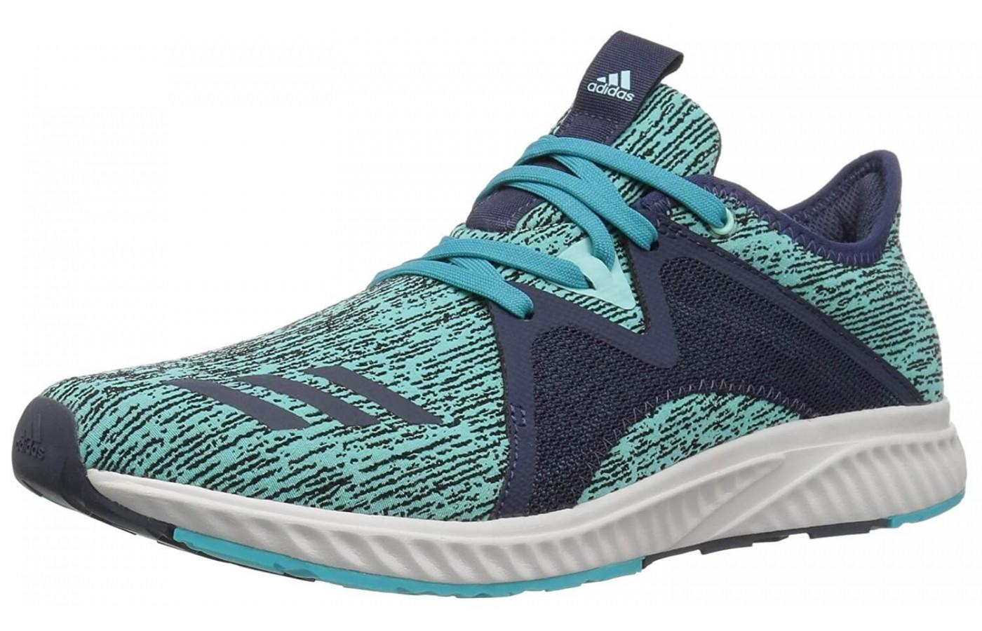 The Adidas Edge Lux 2 is a shoe designed for the fit and needs of a woman