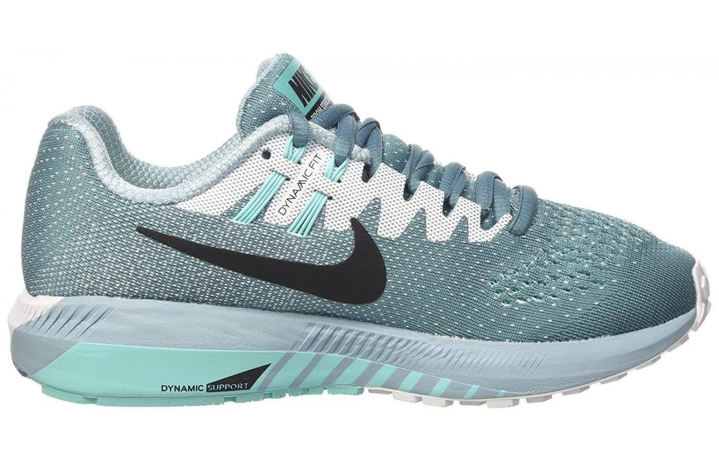 A grey variation of Nike air zoom structure 20