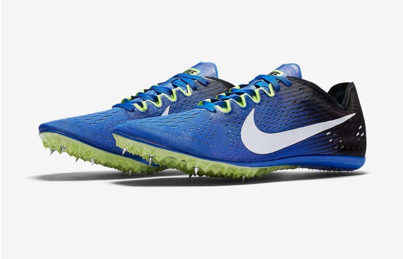 The Nike Zoom Victory 3 is a shoe suitable for an Olympian.