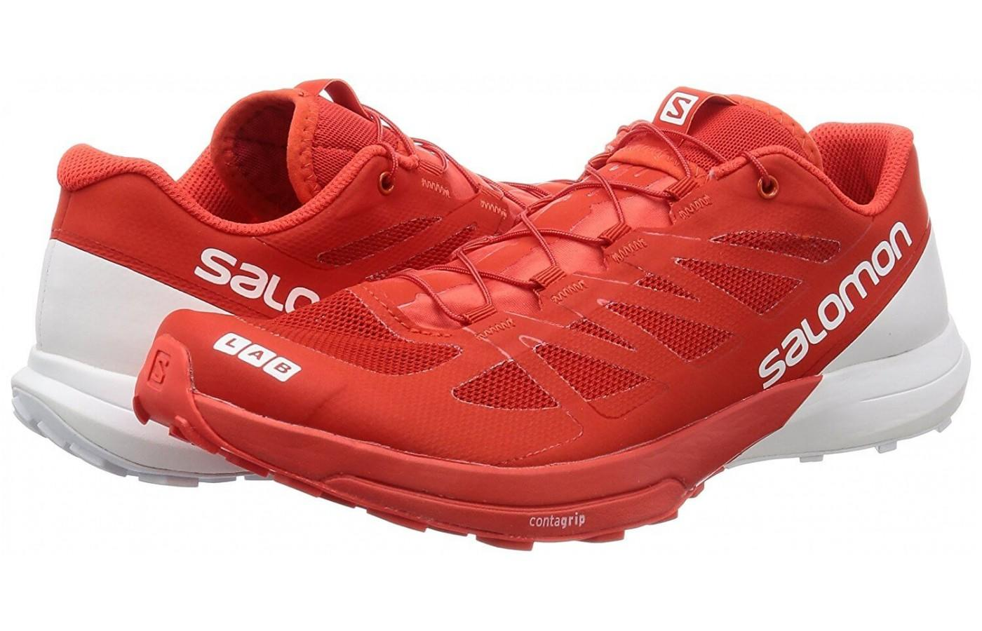 Salomon's S-Lab Sense 6 is a trail shoe with the feeling of a running shoe.