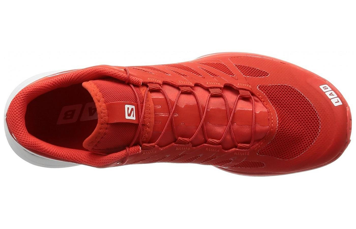 The Sense 6's upper isn't very breathable but very lightweight.