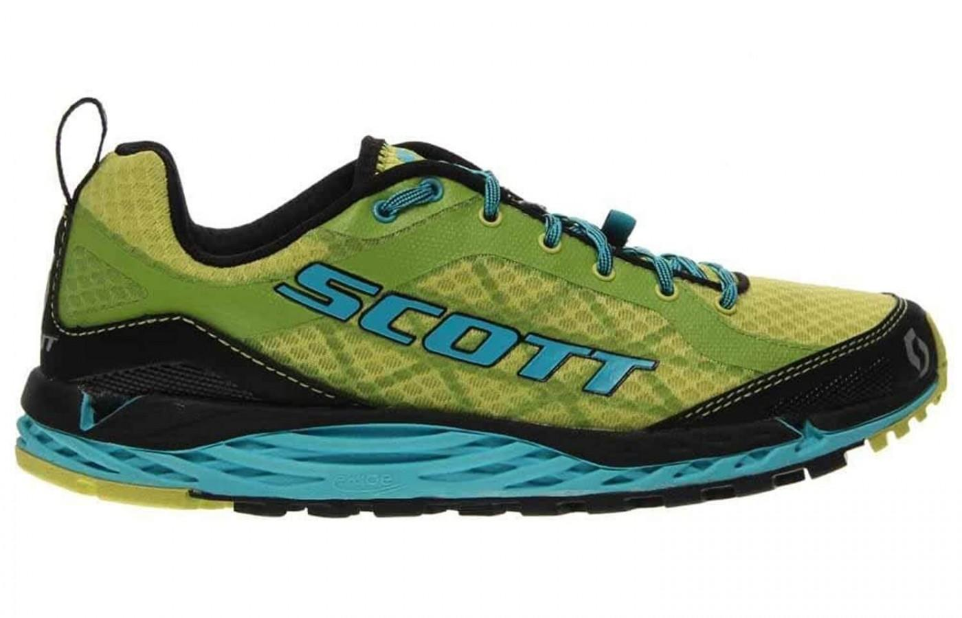 Runners can expect to see the signature Scott insignia along the side.