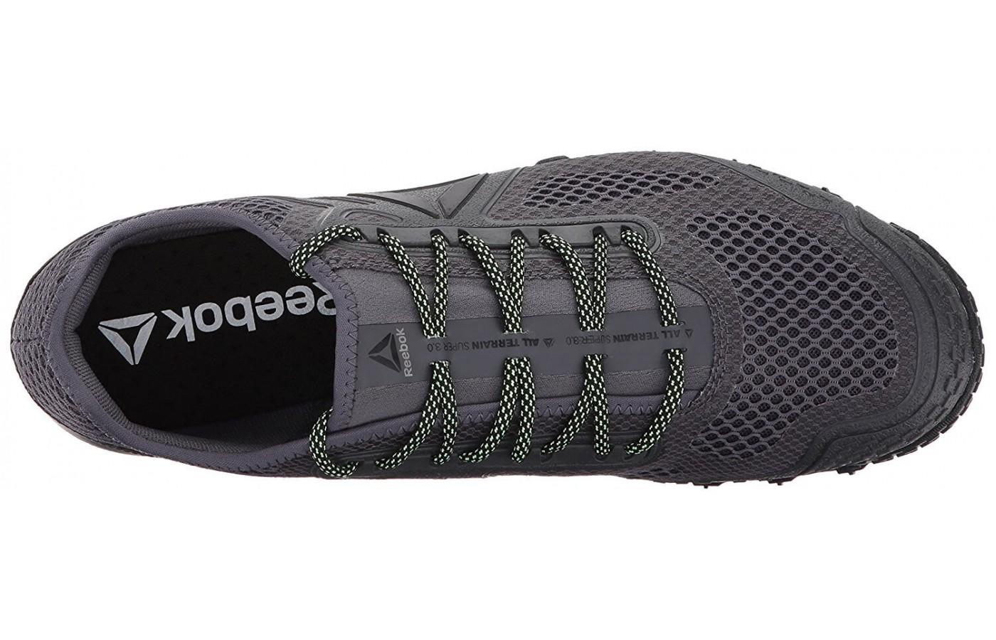 The unique lacing system add support and comfort.