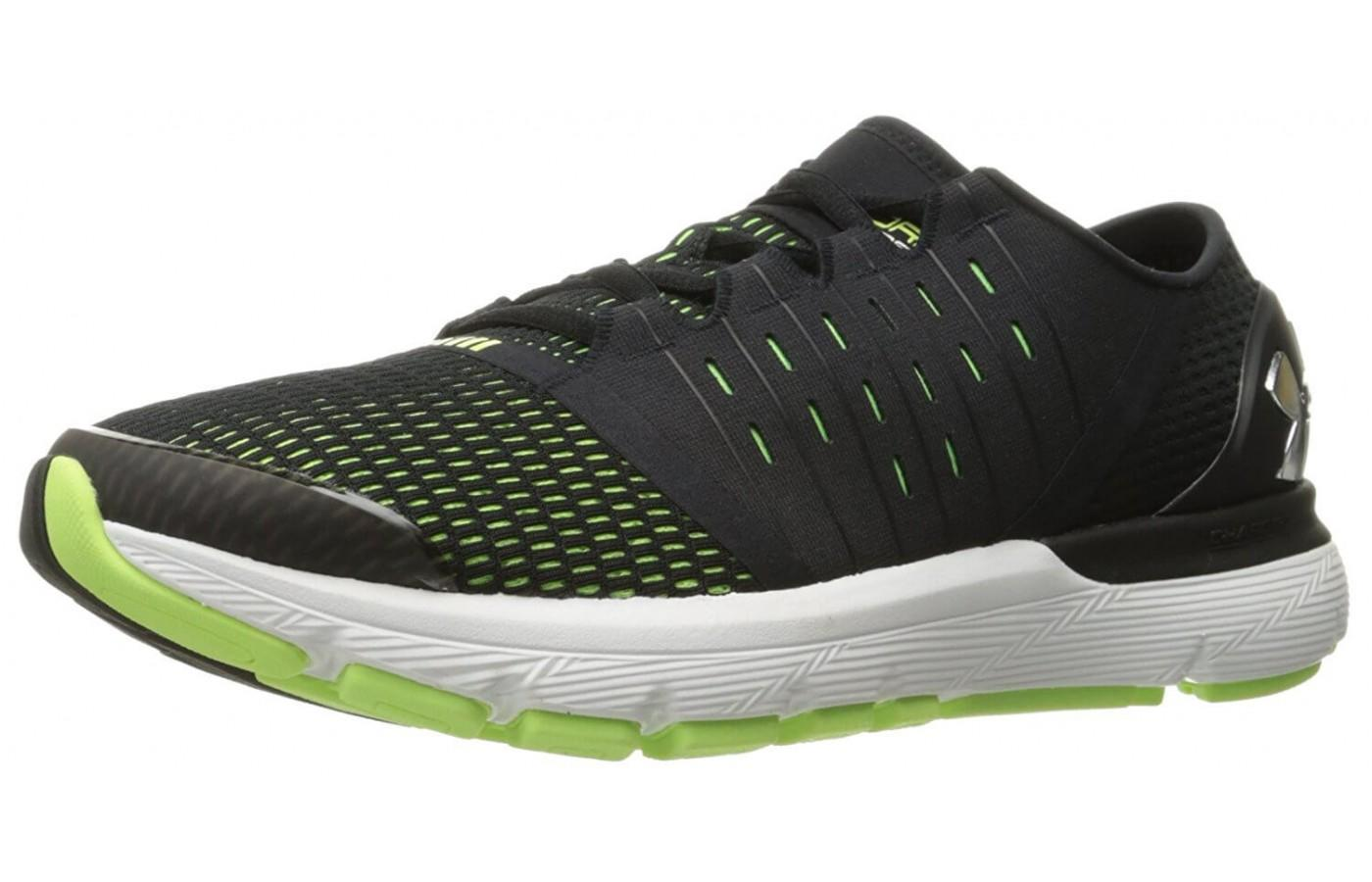 The Under Armour Speedform Europa has a highly cushioned midsole.