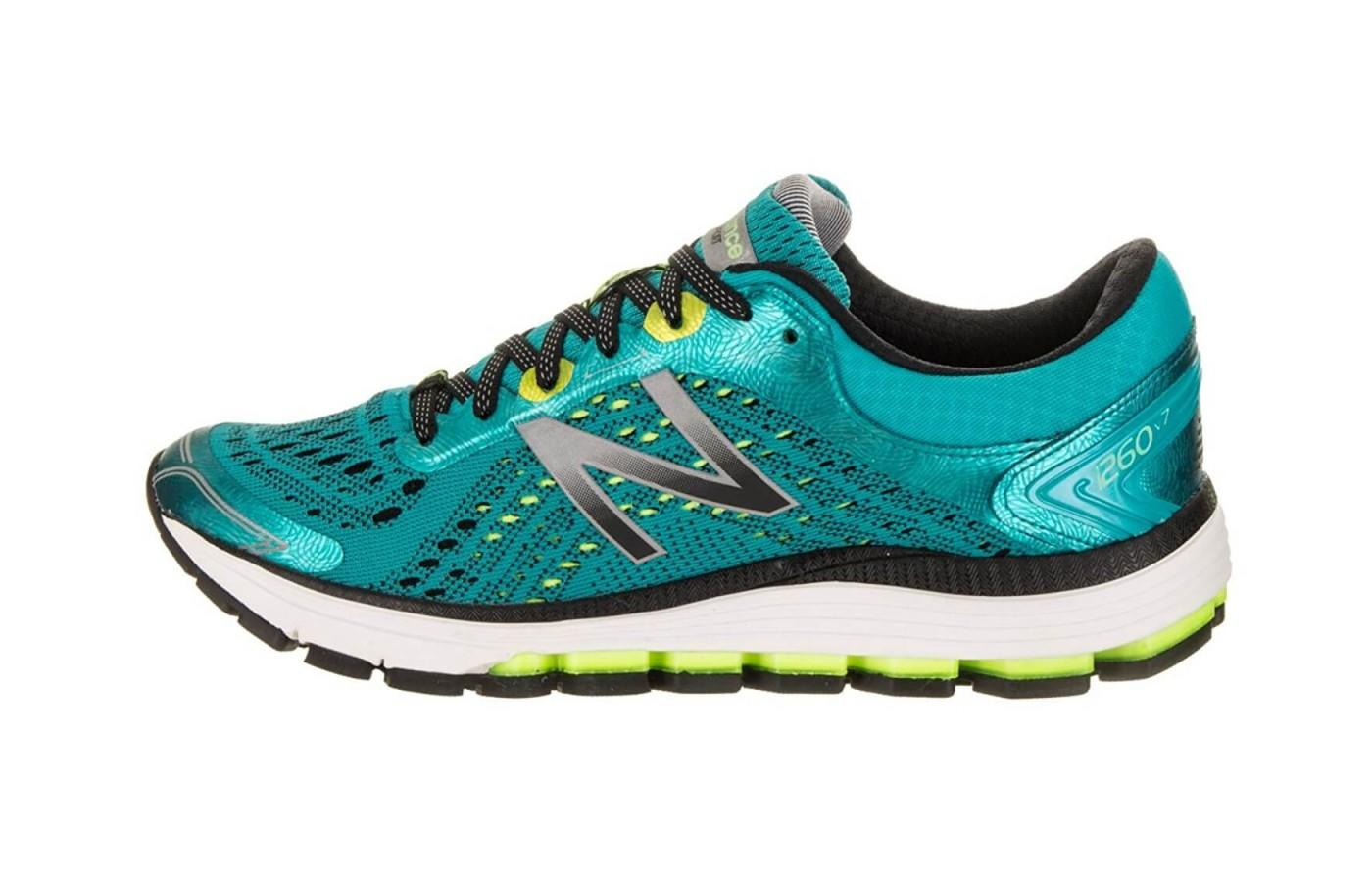 This shoe comes in a variety of bright, eye catching colors and styles.