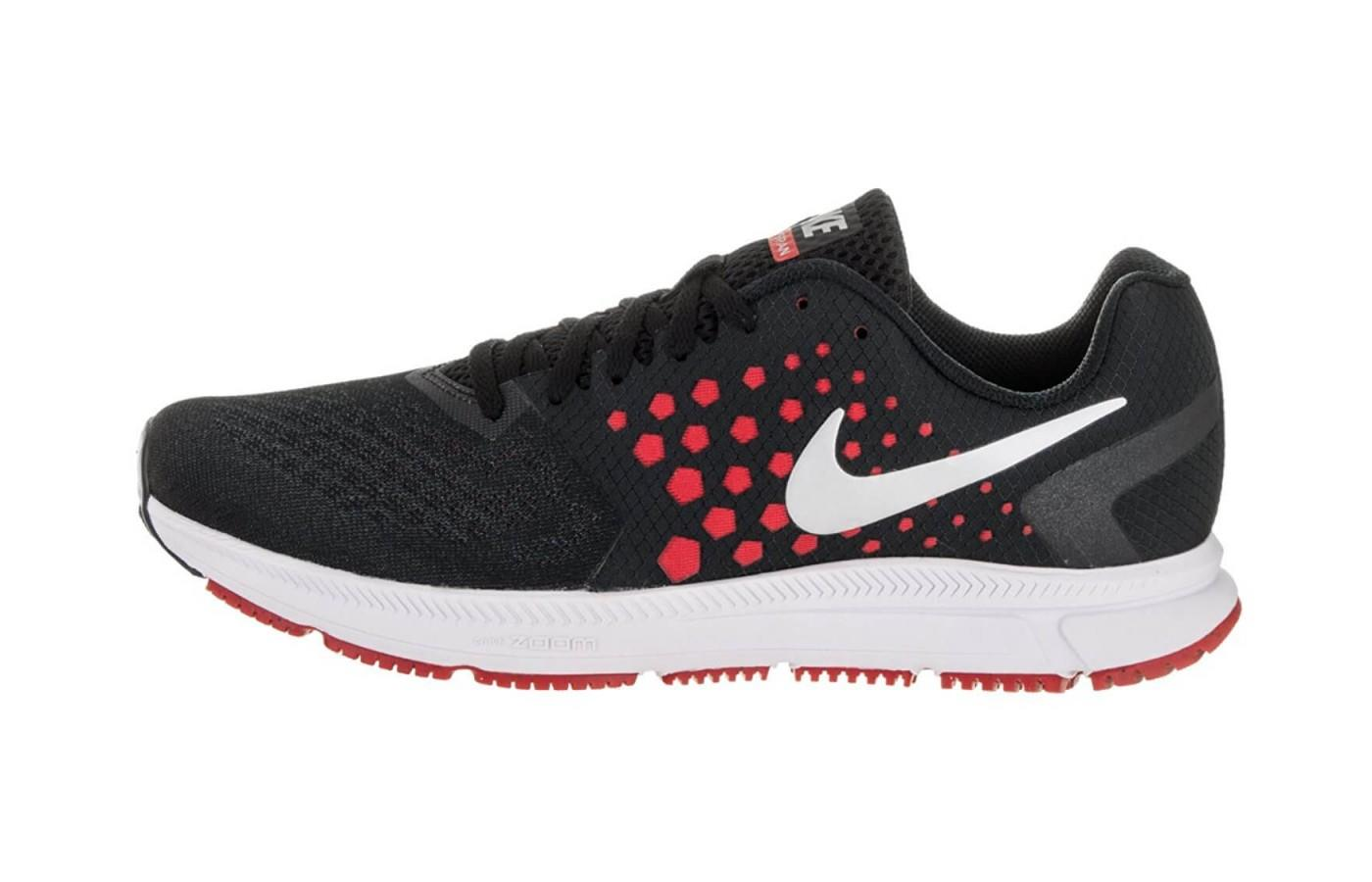 The dual layered midsole provides great cushioning in the Zoom Span