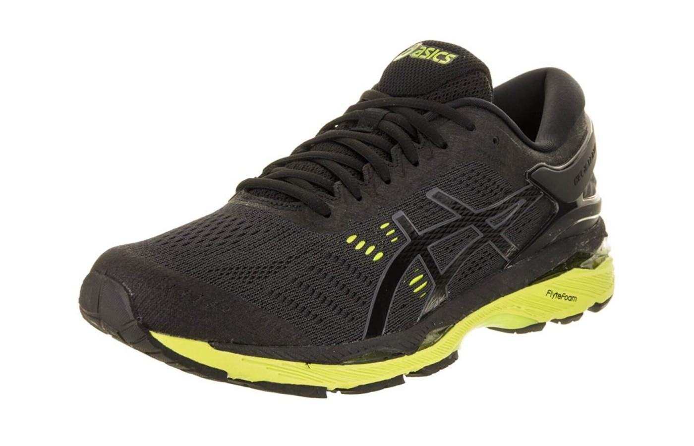the Asics Gel Kayano 24 is a stability shoe