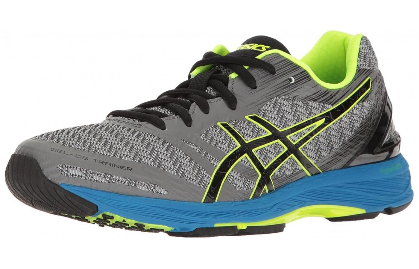 The Asics Gel DS Trainer 22 shown from the front/side