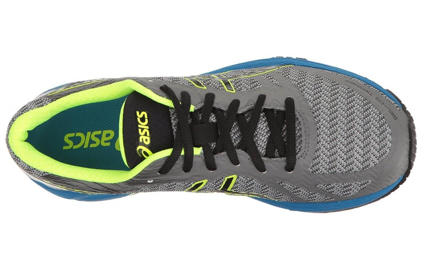 The Asics Gel DS Trainer 22 upper provides good support