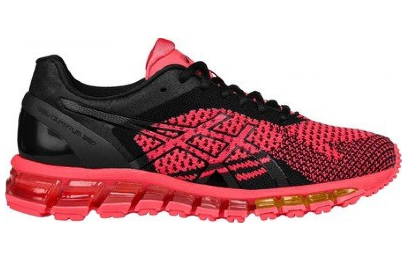 The Heel Clutching System of the Asics Gel Quantum 360 Knit provides support and a nice fit