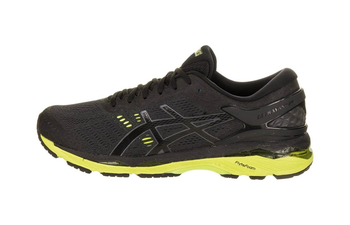 here's a profile of the Asics Gel Kayano 24