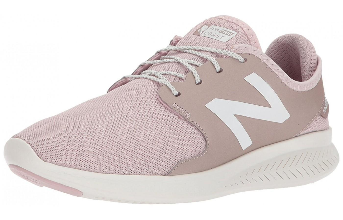 The New Balance Fuelcore Coast V3 shown from the front/side