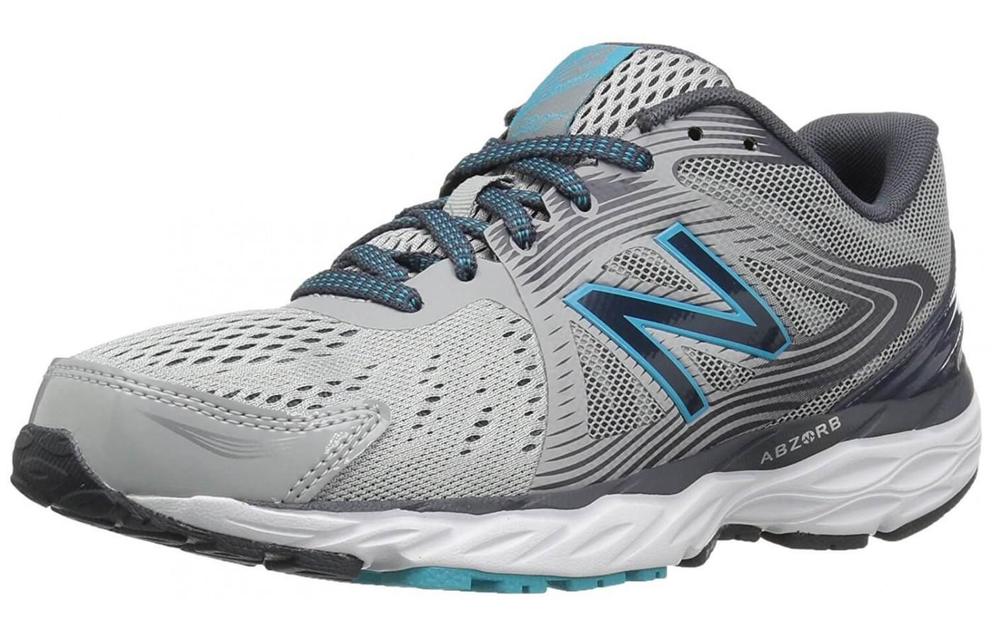 The New Balance 680V4 is a neutral shoe