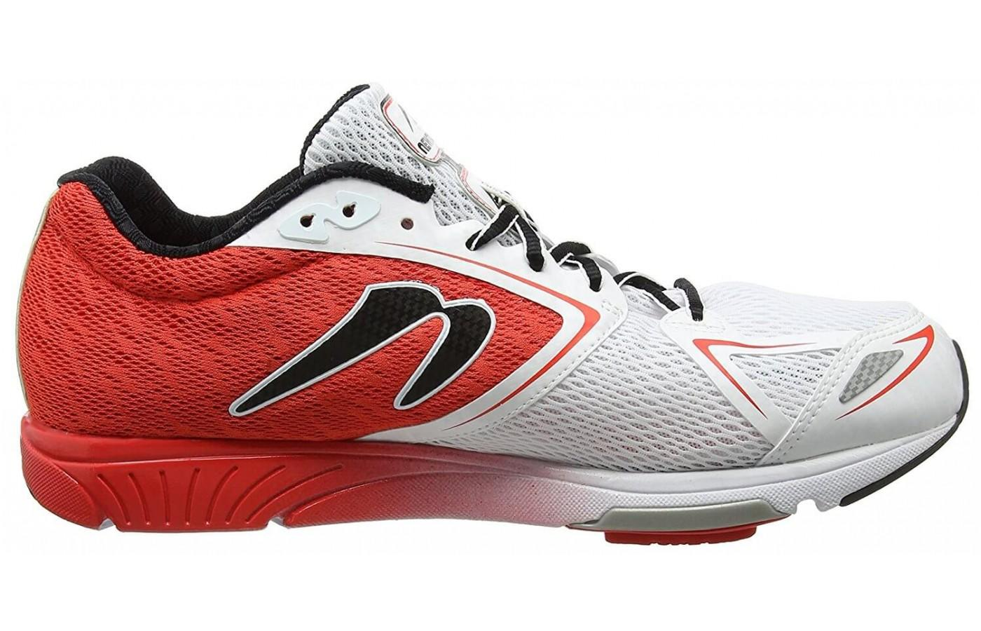 The Newton Distance 6 has a full flex zone for comfortable splaying