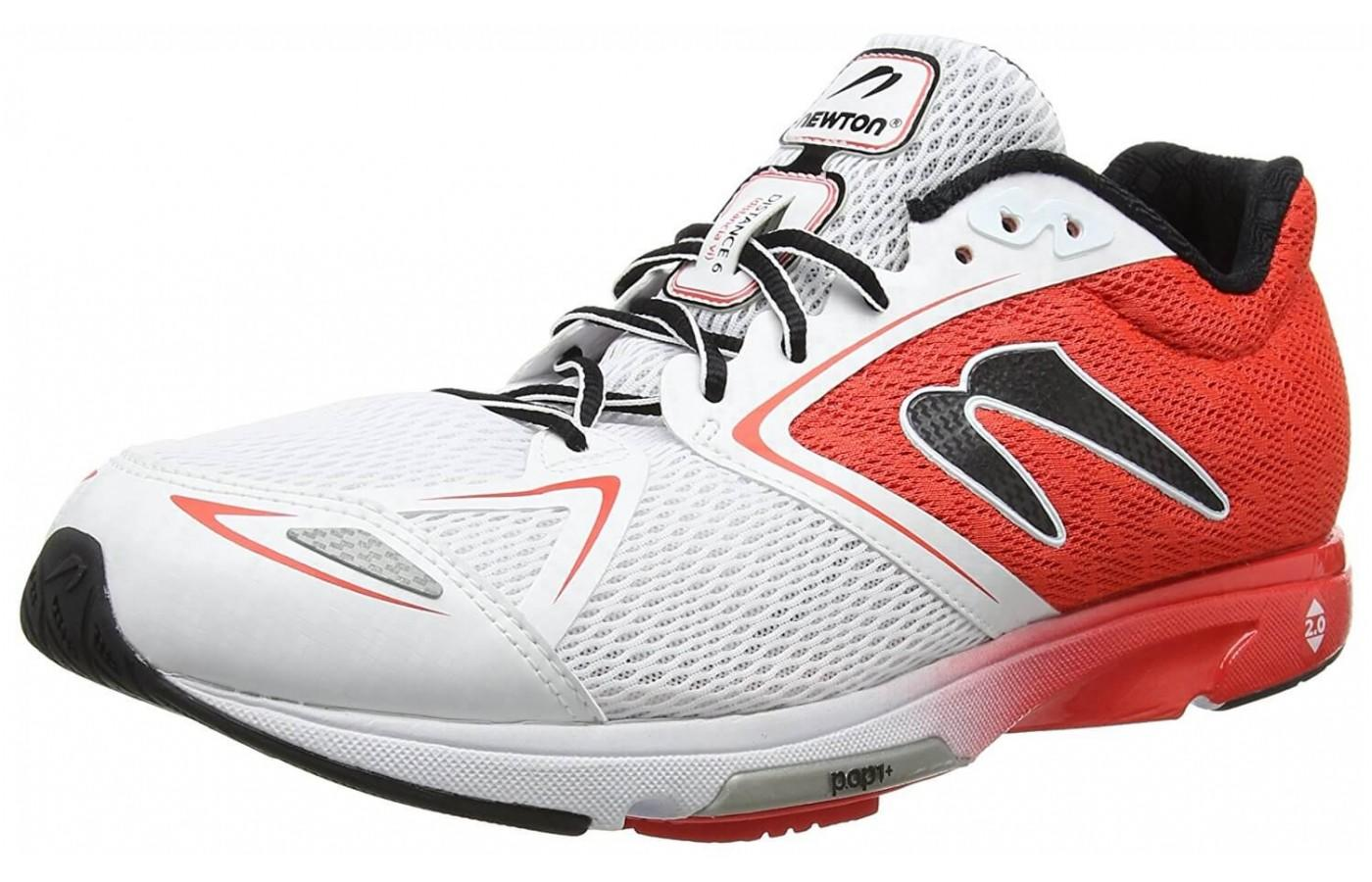 The Newton Distance 6 shown from the front/side