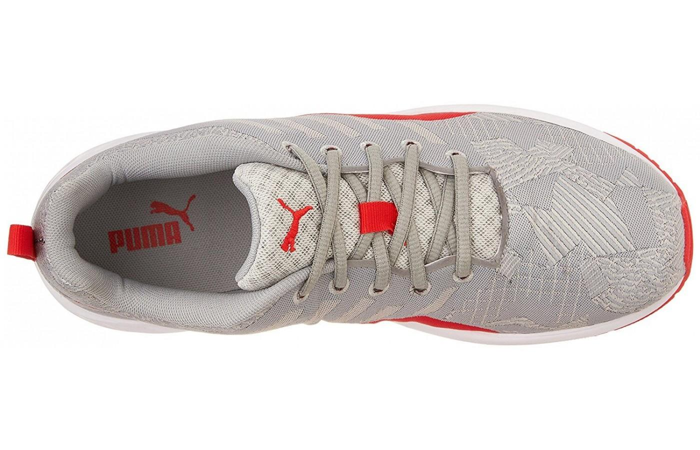 The Puma Flare has traditional laces