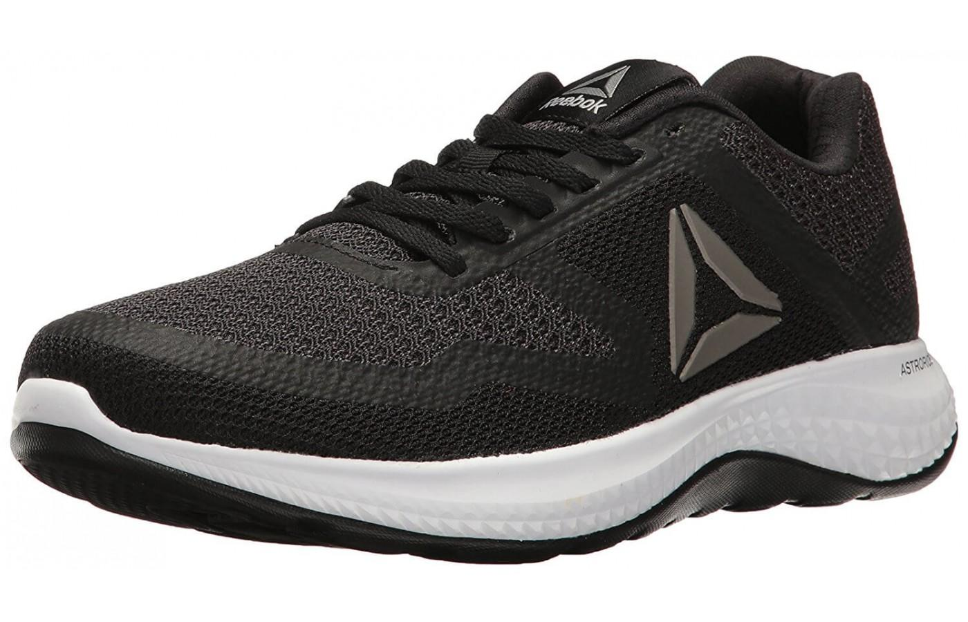 The Reebok Astroride 2D shown from the front/side